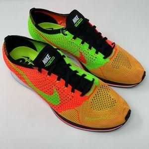 9a4baf803aa5 Nike Shoes - 🆕 RARE Nike Flyknit Racer - Hyper Punch Green